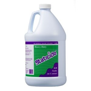 1 gallon bottle of ACL Staticide on white background